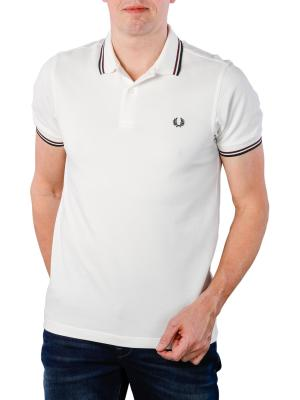 Fred Perry Twin Tipped Shirt snow white/navy