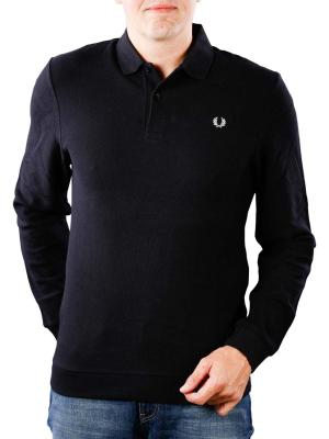 Fred Perry Honeycomb Texture Polo black