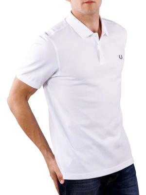 Fred Perry Plain Polo Shirt white