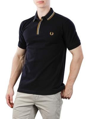 Fred Perry Polo Shirt schwarz