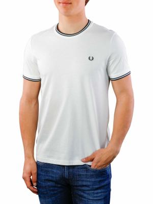 Fred Perry Twin Tipped T-Shirt snow white