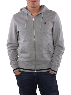 Fred Perry Bold Hooded Sweat steel marl