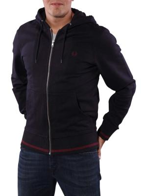 Fred Perry Bold Hooded Sweat navy