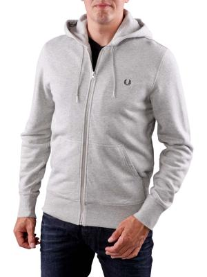 Fred Perry Loopback Hooded Sweat stone marl