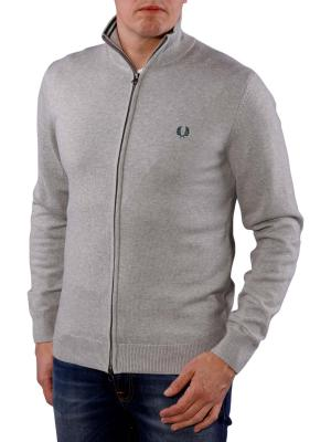 Fred Perry Classic Cotton Zip Cardigan stone marl