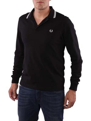 Fred Perry Long Sleeve Shirt black