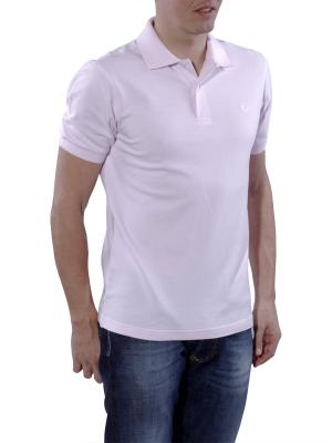 Fred Perry Polo Piqué pink oxford