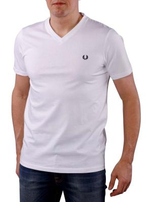 Fred Perry V-Neck T-Shirt white