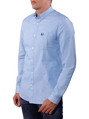Fred Perry End on End Shirt turquoise