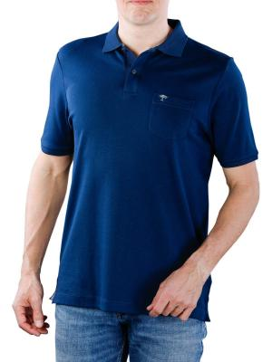 Fynch-Hatton Polo Chest Pocket Interlock midnight