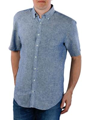Fynch-Hatton Soft Solid Linen BD navy