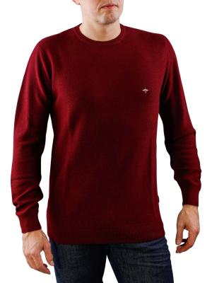 Fynch-Hatton O Neck Merino Pullover bold