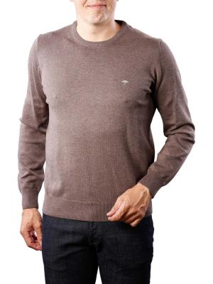 Fynch-Hatton O-Neck Knit earth