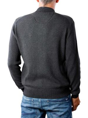 Fynch-Hatton Cardigan College Knit charcoal