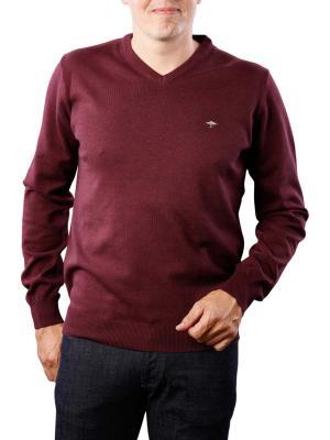 Fynch-Hatton V-Neck Sweater oxblood