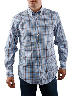 Fynch-Hatton 2-Tone Combi Shirt brown