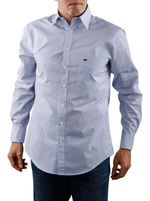 Fynch-Hatton Prints and Minimals Shirt white