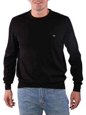 Fynch-Hatton O-Neck Sweater black