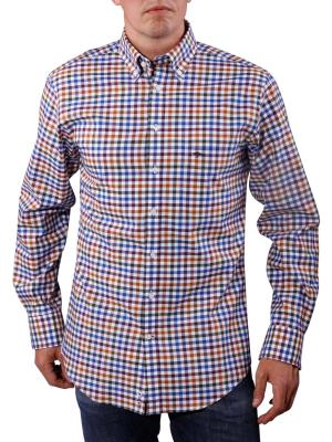 Fynch-Hatton Structured Multi Shirt safran