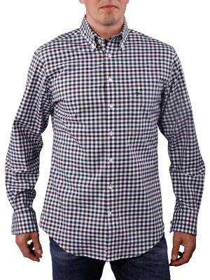 Fynch-Hatton Structured Multi Shirt brown