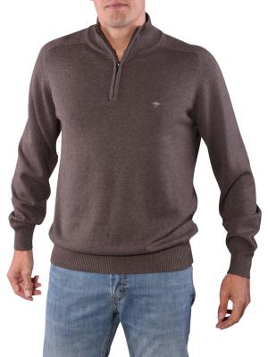Fynch-Hatton Troyer Zip Pullover earth