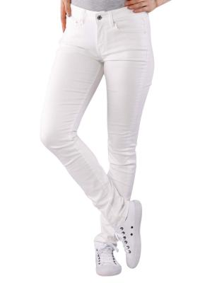 G-Star 3301 High Skinny Jeans white