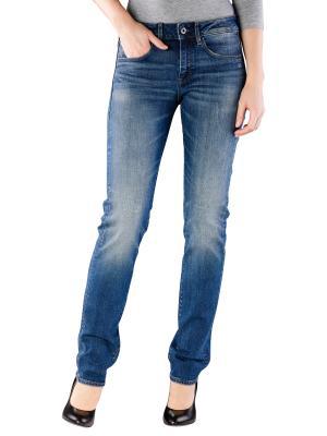 G-Star 3301 Jeans Mid Straight medium aged