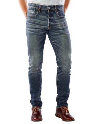 G-Star 3301 Tapered Jeans medium aged