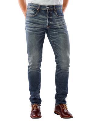 G-Star 3301 Tapered Jeans medium aged