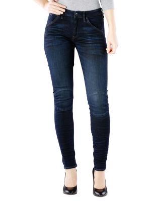 G-Star 5622 Mid Skinny Jeans dark aged cobler