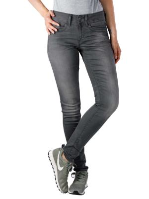 G-Star Lynn Mid Skinny Slander Grey Superstretch medium aged
