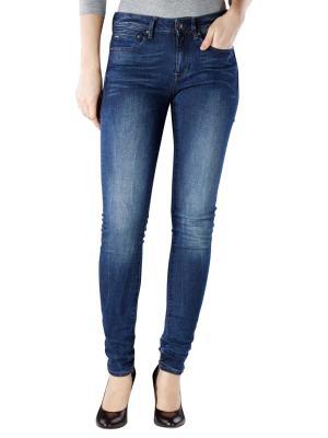 G-Star Midge Zip Mid Skinny Jeans dark aged