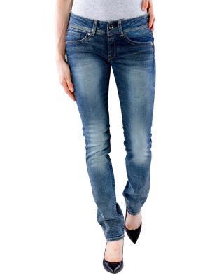 G-Star Midge Saddle Mid Straight Jeans Maidu med aged