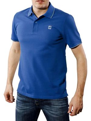G-Star RCT Stripe Slim Polo true blue