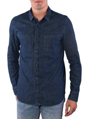 Calvin Klein Roger Shirt Slim worn rinse shirting