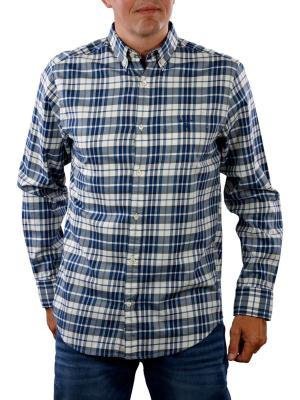 Gant Winter Twill Plaid Reg cream