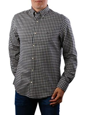 Gant D1 Winter TWI Buffalo Check Reg BD Shirt dry sand