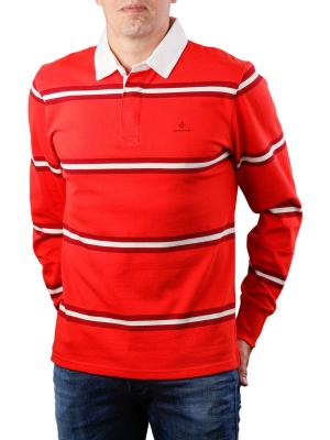 Gant D1 Heavy Rugger Pullover blood orange