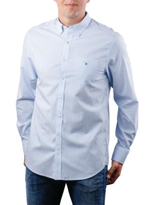 Gant The Broadcloth Reg BD capri blue