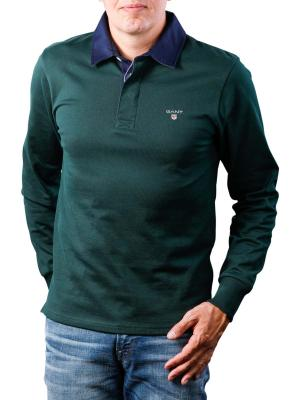 Gant The Original Heavy Rugger Pullover tartan green