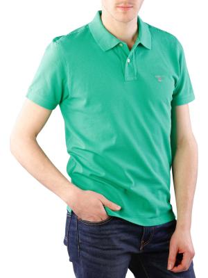 Gant The Original Piqué SS Rugger jelly green