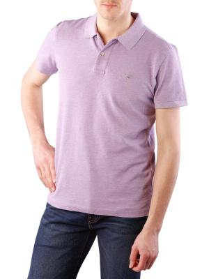 Gant The Original Piqué SS Rugger aster purple melange