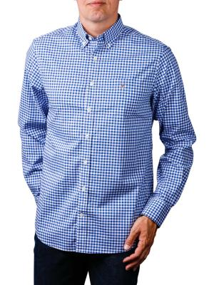 Gant The Broadcloth Gingham Reg BD college blue
