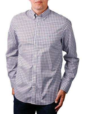 Gant The BC 3 Col Gingham Reg BD Shirt port red