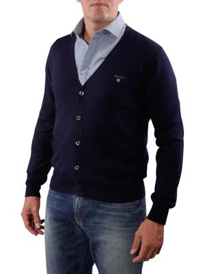 Gant Cotton/Cashmere Cardigan marine