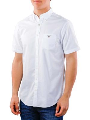 Gant The Oxford Shirt Reg SS BD white
