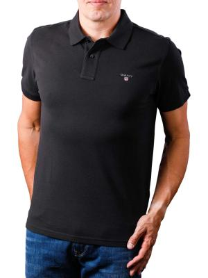 Gant The Original Pique SS Rugger Polo Shirt black