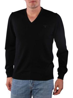 Gant Solid Merionowool Sweater black