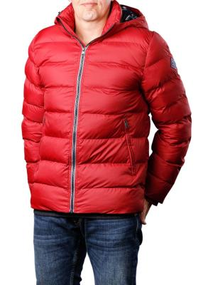 Gant D1 The Active Cloud Jacket mahogny red