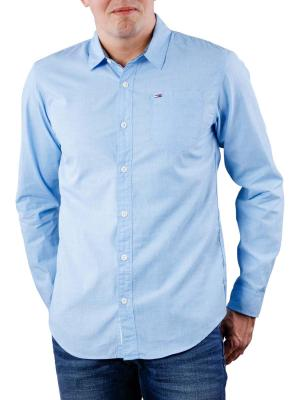 Tommy Jeans Basic Solid Shirt indigo bunting